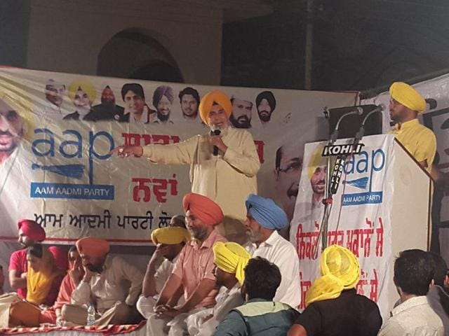 Sucha Singh Chhotepur was sacked by AAP over corruption allegations.