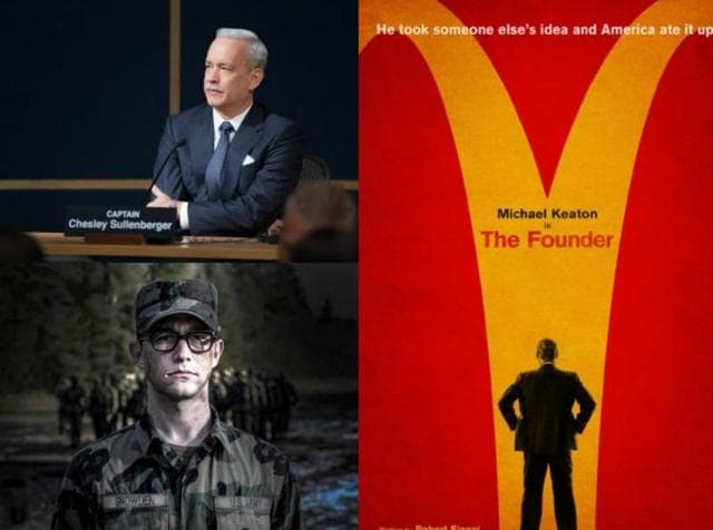 Hollywood Biopics,Sully,War Dogs