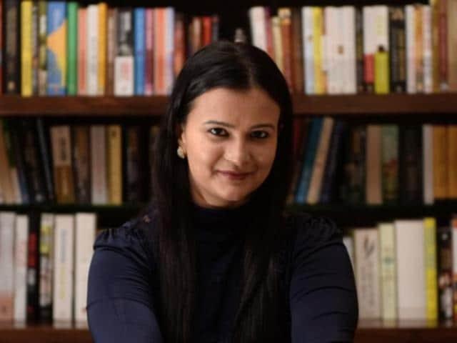 Author Meghna Pant.(Photo: Arijit Sen/HT)