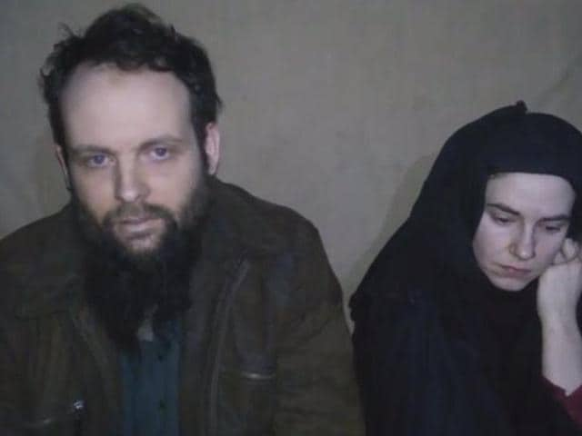 Canadian Joshua Boyle and his American wife Caitlan Coleman have urged urged their governments to pressure Kabul to change its policy on executions of captured insurgents.