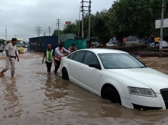 Within a few hours after the downpour led to water logging and traffic snarls, the rain and its impact was among the most talked about topics on Twitter.