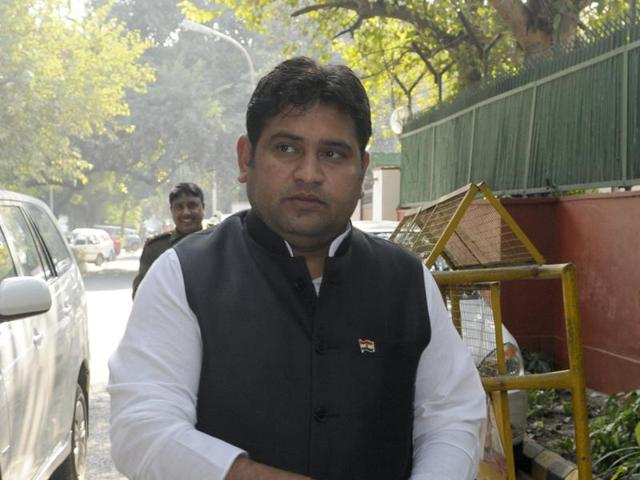 A first-time legislator, Kumar, 35, was selected for the cabinet by chief minister Kejriwal as the party's Dalit face.