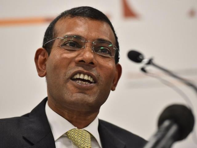 Former Maldives president Mohamed Nasheed  was sentenced to prison in March 2015 after being convicted on a charge of terrorism for having a judge arrested during his time as president.