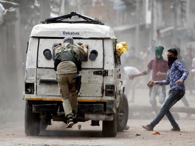 Kahsmir curfew