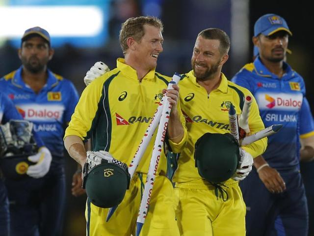 John Hastings,George Bailey,Aaron Finch