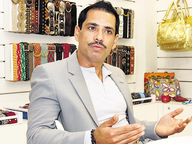 Businessman Robert Vadra was accused of getting land because of his political links.