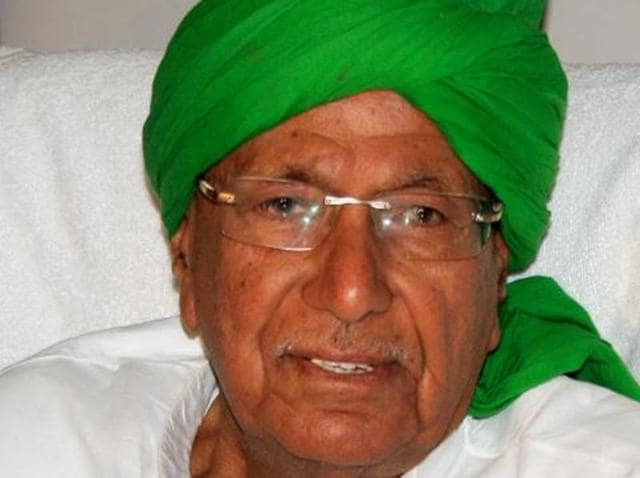 Former Haryana CM Om Prakash Chautala was admitted to AIIMS hospital after complaining of breathing problems.
