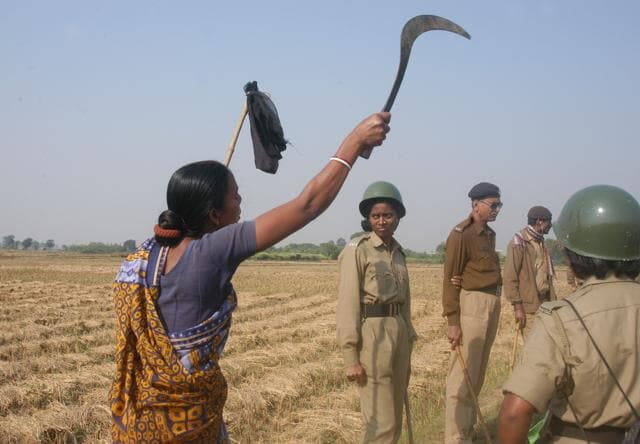 The Singur land acquisition in 2006 sparked protests by farmers, who said they were not paid adequate compensation by the then Left Front government.