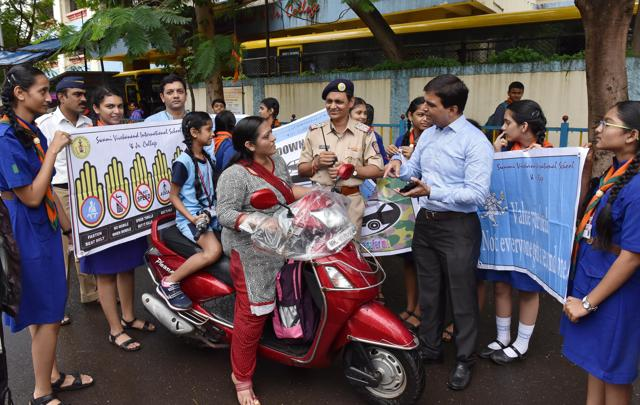 Road safety,School students,drive