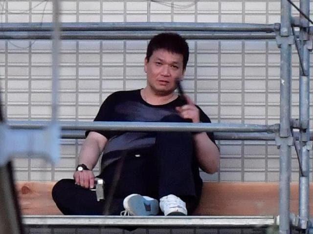 Japan gunman standoff,Yasuhide Mizobata,Japan gun crimes