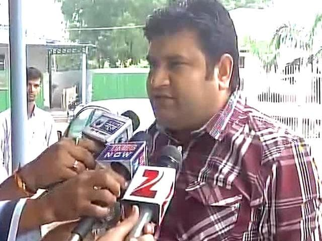 Sandeep Kumar was sacked by Aam Aadmi Party over an alleged sex scandal.(ANI Photo)