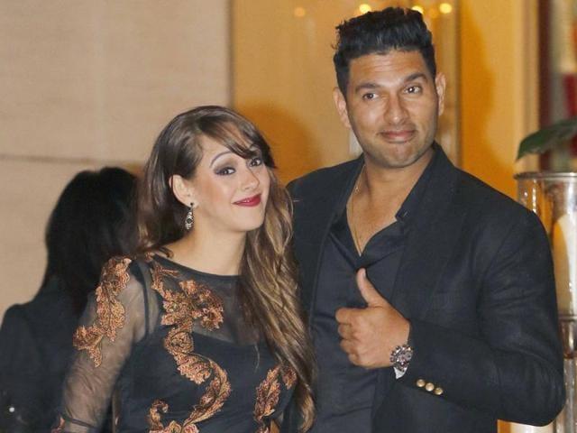 Yuvraj Singh got engaged to Hazel Keech in Bali in November last year.