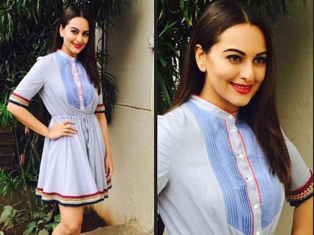 Social media-savvy Sonakshi is redefining her Instagram game by looking thinner than ever in her most recent photos.