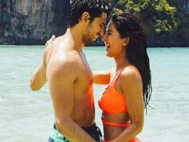 Katrina Kaif and Sidharth Malhotra look sizzling hot in Baar Baar Dekho.
