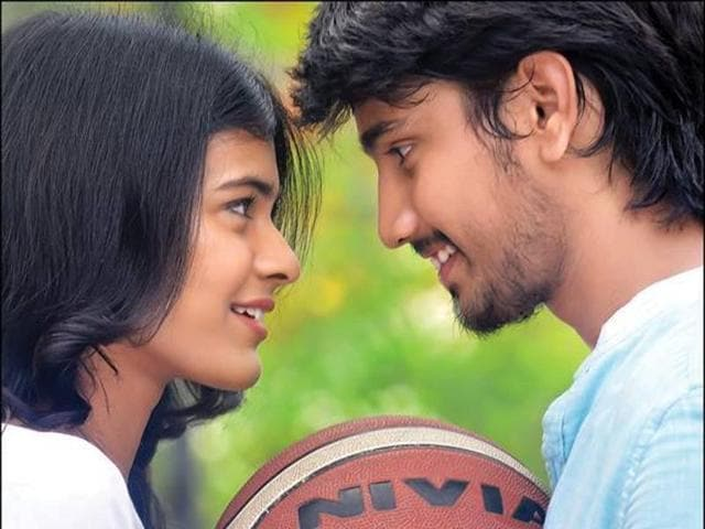 Kumari 21F's Kannada remake will mark the acting debut of Pranam Devaraj. Seen here, a scene from the original.