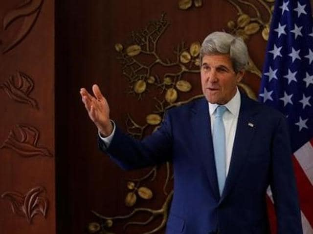 US secretary of state John Kerry is in India for a four-day visit and is staying in a five-star Delhi hotel.