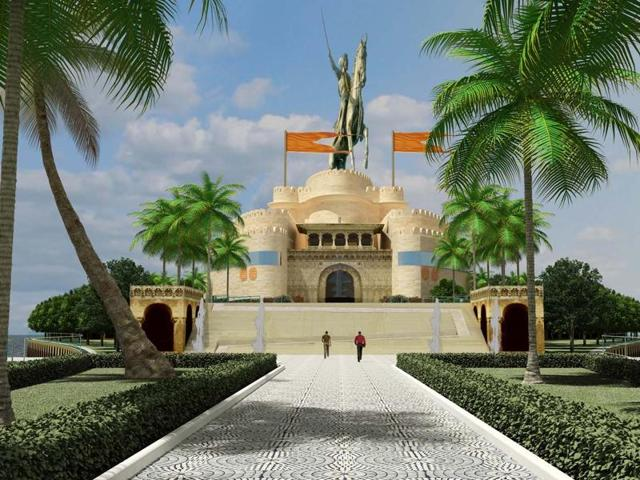 Shivaji,Statue,Memorial