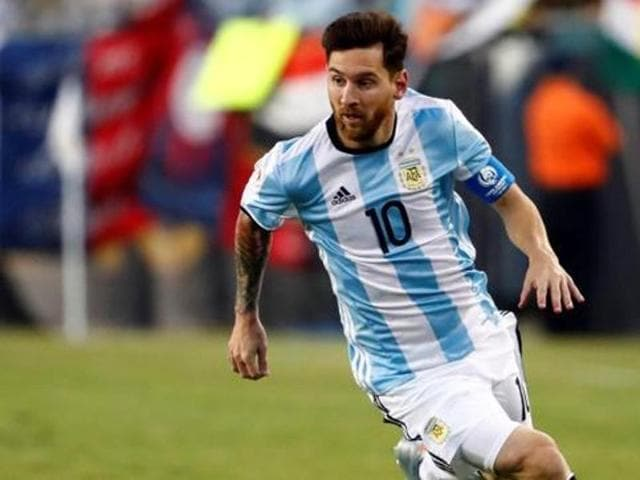Messi will play for Argentina for the first time since the Copa America Centenario final.