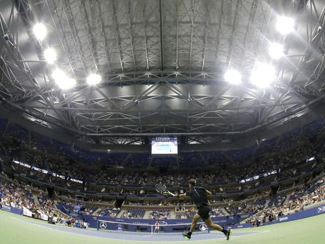 US Open,US OPen Roof,Arthur Ashe Stadium