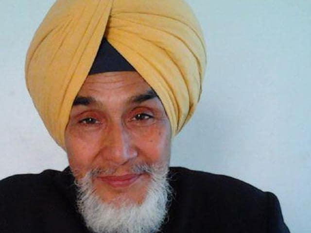 Sacked Punjab convener of the AAP, Sucha Singh Chhotepur.
