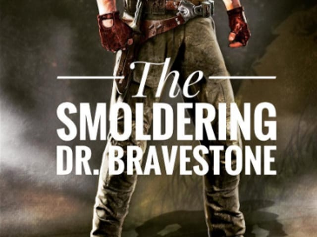 """The 44-year-old former wrestler shared the picture on Instagram to debut a tentative look of the """"smoldering"""" Dr Bravestone."""