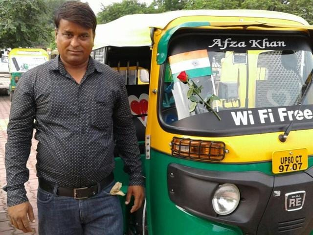Wi-fi-enabled auto