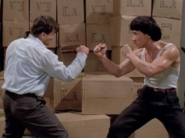 Here's to you Jackie Chan, Academy Award winner.