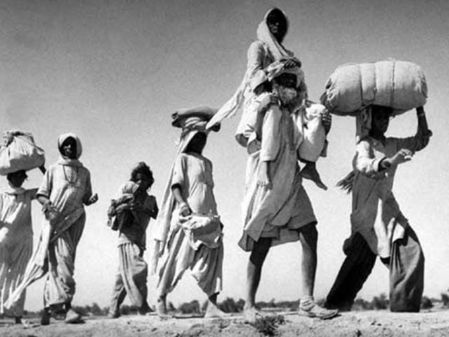 It was the largest exodus in human history. The burden of it is carried even now.