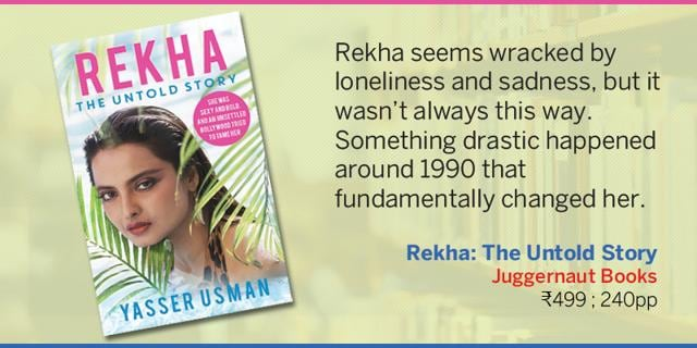 Rekha Was Born Out Of Wedlock To Tamil Superstar Gemini: New Book On Rekha Looks At The Bollywood Diva's Life With