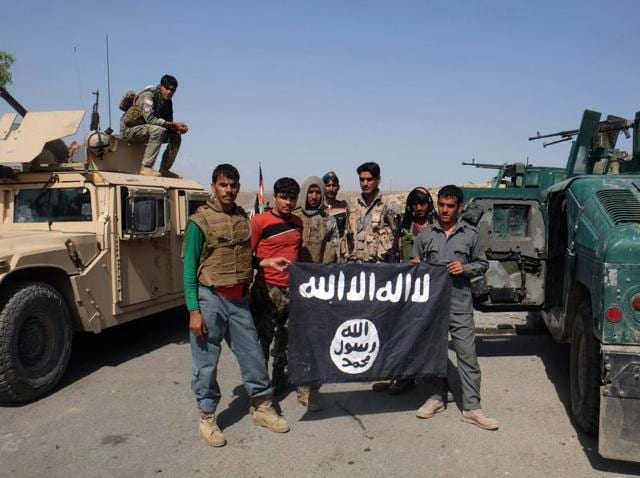 """As many as 309 IS militants have been arrested so far, including 25 Afghans, 127 other foreign nationals and 157 """"freelancers"""" and fighters from small groups."""