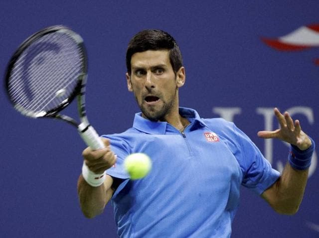 Djokovic hasn't played a point since Monday, when he experienced problems with his right arm.