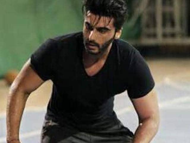 Arjun Kapoor shoots for Half Girlfriend.