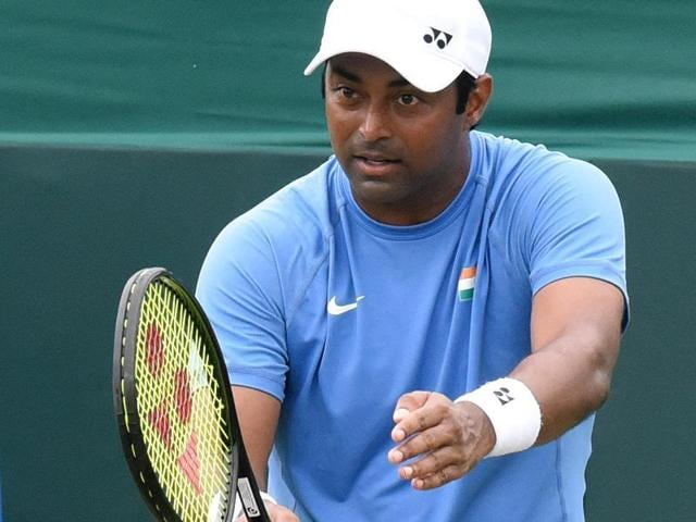 Paes and Begemann were unable to capitalise on breaks of serve in the second and third sets.