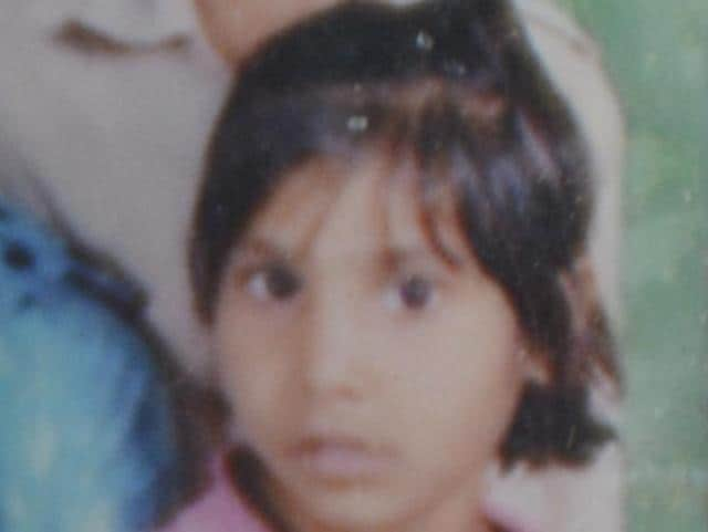 File photo of Khushi taken from family album. She was the youngest of her eight siblings.