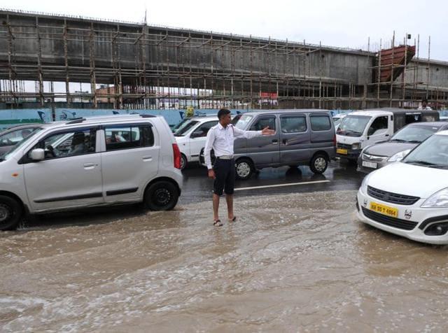 police personnel,Gurgaon,brave snarls