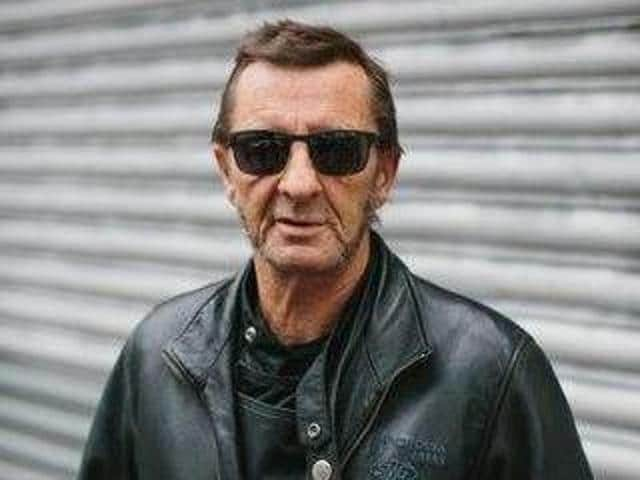 Phil Rudd was replaced by Chris Slade after he was convicted in 2015 for drug possession.