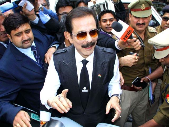 The court did not give any relief to Subrata Roy. (HT File Photo)