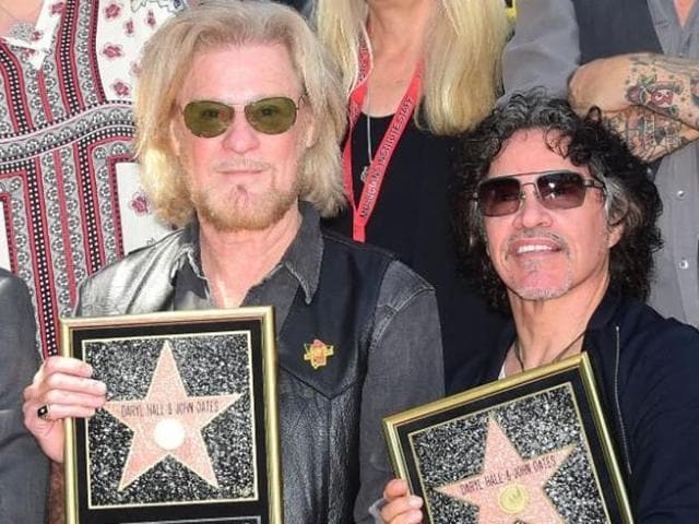 Hall and Oates,Hall and Oates Hollywood Walk of Fame,Hollywood Walk of Fame
