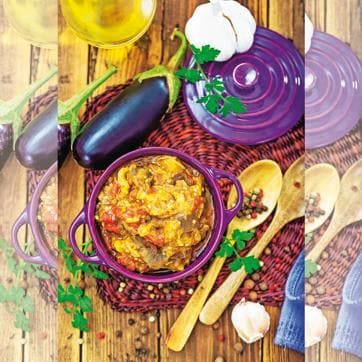 By the medieval period, the famous baingan dishes of modern Indian cooking – including the baingan bharta – had already been created and documented.