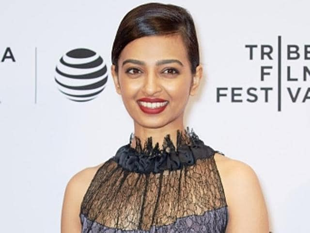 Radhika Apte will perform a dance act honouring veteran singer Asha Bhosle. Radhika is a trained contemporary dancer.(Getty Images)