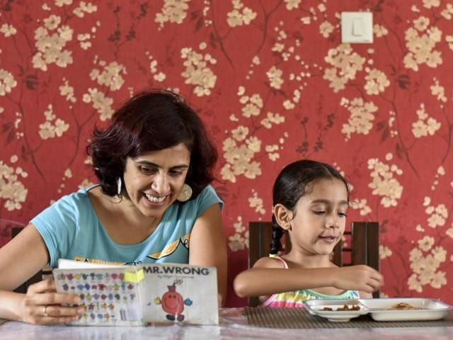 Mumbai homemaker Deepti Tamhane says her daughter Asya, 6, was a fussy eater till the age of two-and-a-half.   But once her parents stopped letting her snack on biscuits and cornflakes, she started eating everything.