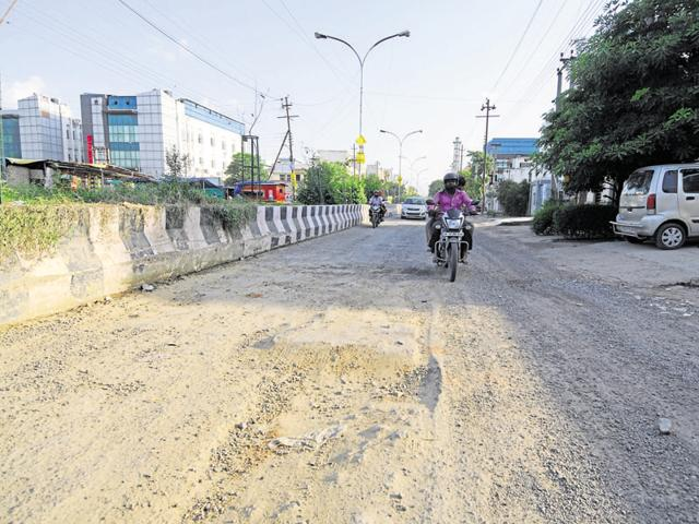 Residents have been complaining about potholes on city roads, which are damaging their vehicles and causing traffic jams.