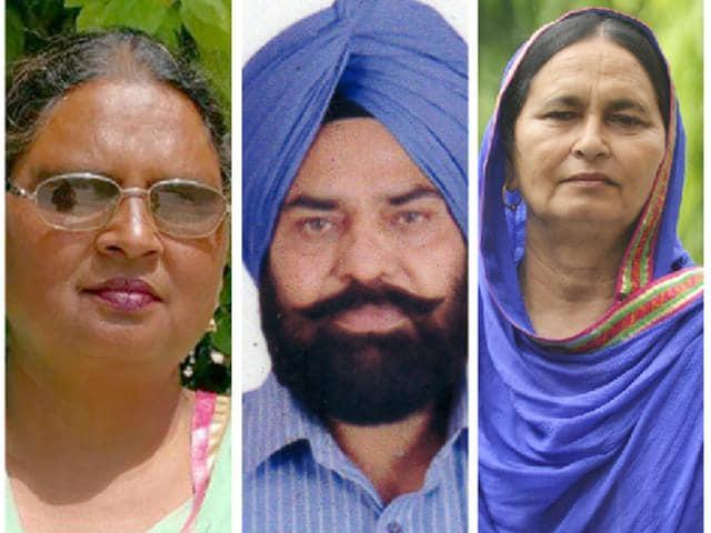 Mandeep Kaur, Govt Girls Secondary School, Amritsar), Balwinder Kaur (Govt Elementary School, Central Jail, Amritsar), Megh Dass (Govt Middle School, Ludhiana) and Rajwinder Kaur (Govt Elementary School, Amritsar)