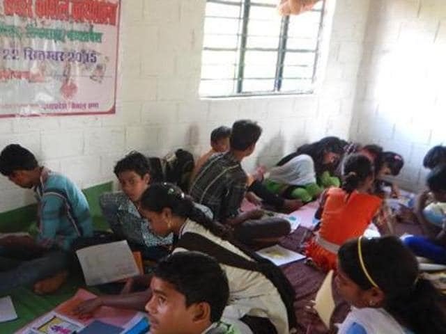 The students were put up in a common hall and were not allowed to attend the classes when the government resolution states that they should be given equal right to education and living with the other students, said the parents.