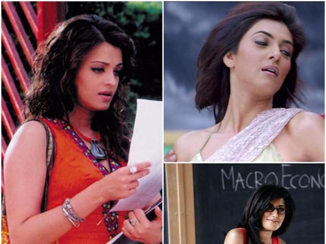 Bollywood has all sorts of teachers. Aishwarya Rai played a sensual, mysterious college teacher to Zayed Khan in Leena Yadav's Shabd. AndSushmita Sen  was a teacher in Main Hoon Na.