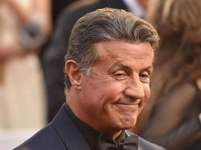 Sylvester Stallone attends the 88th Annual Academy Awards at Hollywood & Highland Center on February 28, 2016 in California. (AFP)