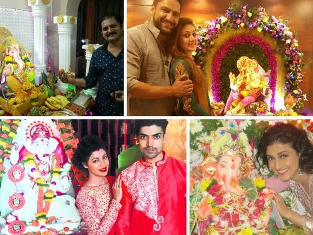 Every year, television celebrities eagerly look forward to celebrating Ganeshotsav this year.
