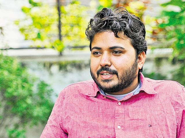 Durgesh Pathak, 28, once aspired to be a civil servant,