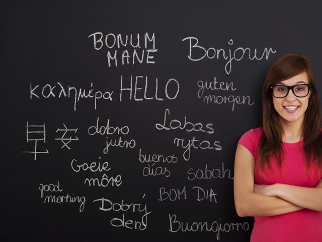 The elasticity of human brain may be enhanced by learning foreign languages, a new study suggests
