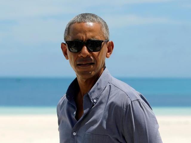 US President Barack Obama tours Papahanaumokuakea Marine National Monument. A fish has been named in Obama's honour for his commitment to protecting nature through the expansion of the Papahanaumokuakea Marine National Monument.